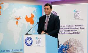 Κικίλιας: Το υπουργείο Υγείας στηρίζει το Κέντρο Κυτταρικής και Γονιδιακής Θεραπείας της ΕΛΠΙΔΑΣ