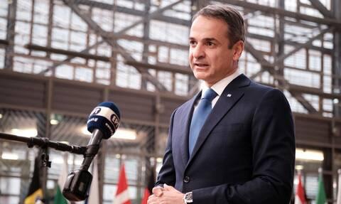 Σύνοδος Κορυφής ΕΕ: LIVE οι δηλώσεις του Κυριάκου Μητσοτάκη