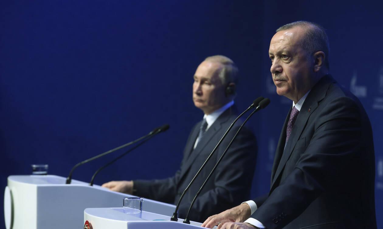 Συνομιλία Πούτιν - Ερντογάν: Στην κόψη του ξυραφιού οι σχέσεις Άγκυρας-Μόσχας