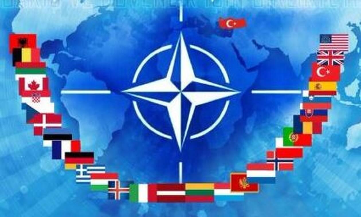 NATO: Οι Τούρκοι δημοσίευσαν χάρτη που δείχνει την Κύπρο τουρκική