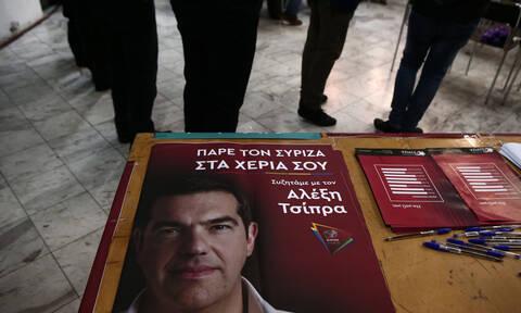 Προσαγωγές στη Συγγρού για αφισοκολλήσεις του ΣΥΡΙΖΑ