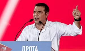 "LIVE: Η ομιλία του Αλέξη Τσίπρα στην Αθήνα - «Η απάτη των ""αρίστων"" αποκαλύπτεται»"