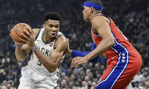 NBA: Νέο σόου Αντετοκούνμπο, νέα νίκη για Μπακς! (video)