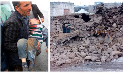 Σεισμός 5,7 Ρίχτερ στην Τουρκία: Νεκροί και τραυματίες - Αγωνία για τους εγκλωβισμένους