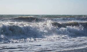 Εύβοια: Μέσα από το νερό βγήκε κάτι πελώριο! (pics)