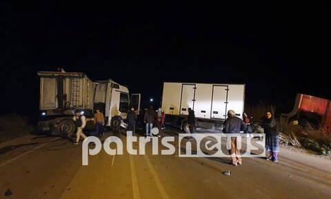 Τραγωδία στην Πατρών-Πύργου: Φρικτό τροχαίο με δύο νεκρούς
