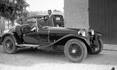 Αυτή η Alfa Romeo ανήκε στο Μουσολίνι!