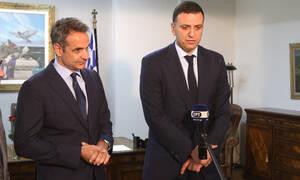 Κοροναϊός: Σύσκεψη Μητσοτάκη - Κικίλια για τη «θωράκιση» της χώρας