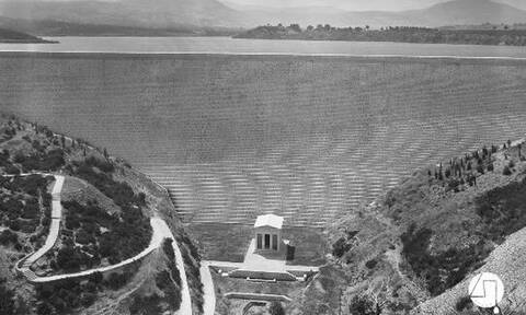 Η πρώτη έκθεση για την κατασκευή του ιστορικού Φράγματος του Μαραθώνα στον «Ελληνικό Κόσμο»