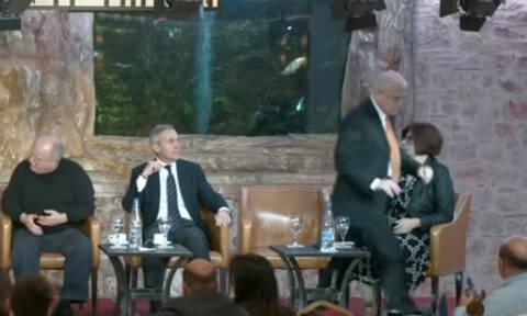 Ποιος πρώην υπουργός «έδιωξε» τον πρέσβη του Ισραήλ από πάνελ;