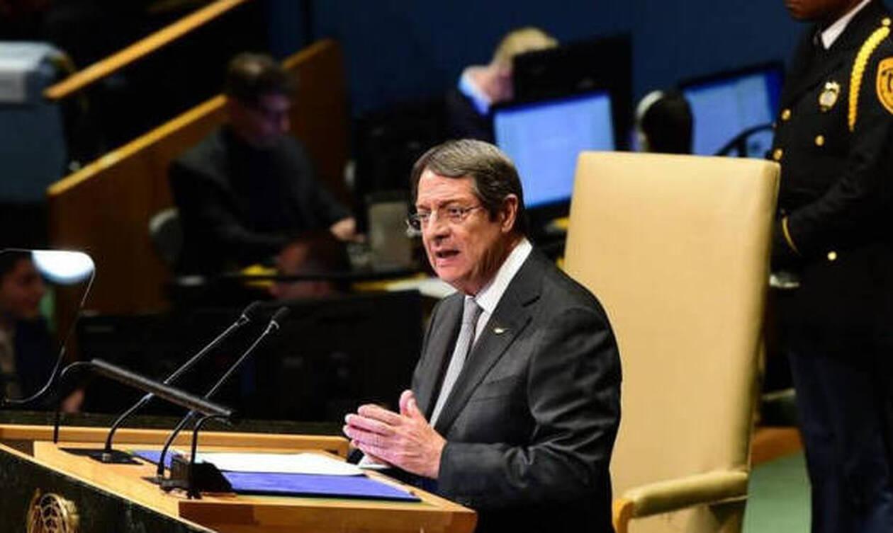 Επιστολή Αναστασιάδη στον ΟΗΕ για τις τουρκικές προκλήσεις