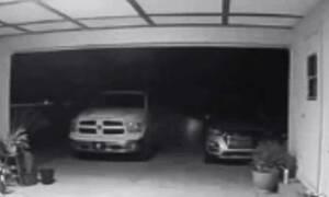 Ανατριχίλα: Η στιγμή που κάμερα ασφαλείας καταγράφει «φάντασμα»