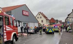 Γερμανία: Αυτοκίνητο έπεσε σε πεζούς στην πόλη Φόλκμαρζεν