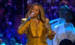 Κόμπι Μπράιαντ: Λύγισε η Μπιγιονσέ στην σκηνή του Staples Center – Δείτε ποιο τραγούδι είπε (vid)