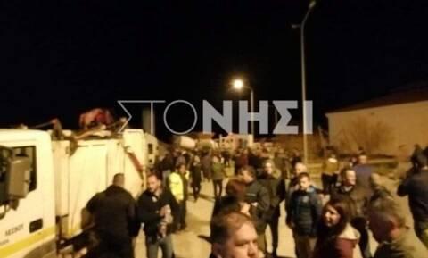 Μεταναστευτικό: Νύχτα θρίλερ σε Μυτιλήνη και Χίο - «Μπλόκο» κατοίκων στην απόβαση αστυνομικών