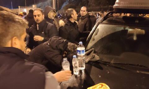 Μεταναστευτικό: Άγρια νύχτα επεισοδίων σε Χίο και Μυτιλήνη (pics+vids)