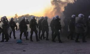 Μεταναστευτικό - «Βράζουν» Μυτιλήνη-Χίος: Μολότοφ, χημικά, ρουκέτες, κλειστοί δρόμοι και συλλήψεις
