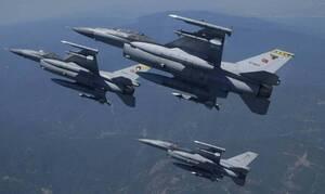 Νέο μπαράζ υπερπτήσεων στο Αιγαίο: Τουρκικά μαχητικά πάνω από πέντε ελληνικά νησιά