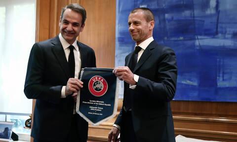 Έπεσαν οι υπογραφές στο μνημόνιο για το ποδόσφαιρο: Τι προβλέπει η συμφωνία με UEFA και FIFA
