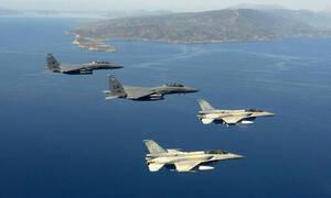 Νέο μπαράζ παραβιάσεων στο Αιγαίο:Επτά εικονικές αερομαχίες μεταξύ ελληνικών και τουρκικών μαχητικών