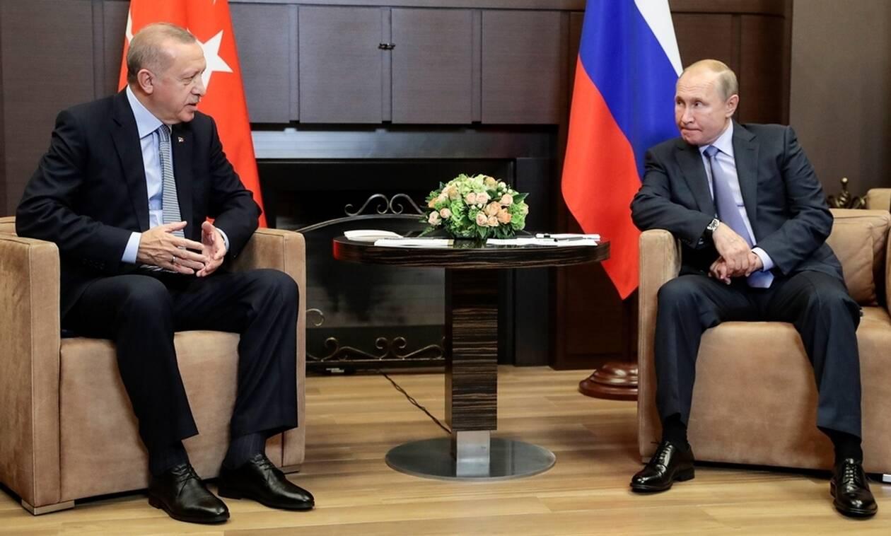 Οργή Πούτιν για Ερντογάν: Μετράει νεκρούς ο Σουλτάνος σε Συρία και Λιβύη