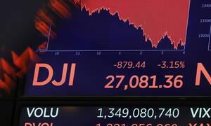 Ο κοροναϊός «βύθισε» τη Wall Street: Χάθηκαν 1.910 μονάδες σε δύο μέρες