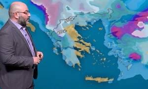Καιρός: Επιδείνωση Πέμπτη και Παρασκευή, πού θα βρέξει την Καθαρά Δευτέρα - Ενημέρωση Αρναούτογλου