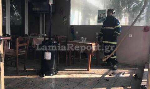 Λαμία: Μεθυσμένος πελάτης έκαψε μαγαζί γιατί δεν του έβαζαν άλλο τσίπουρο