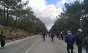 Πόλεμος σε Μυτιλήνη και Χίο: Σοβαρά επεισόδια αστυνομικών και κατοίκων - 61 τραυματίες, οι 2 σοβαρά