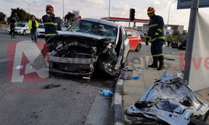 Κύπρος: Σοκαριστικό τροχαίο στη Λεμεσό με τρεις τραυματίες