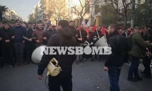 ΤΩΡΑ: Πορεία φοιτητών στο κέντρο της Αθήνας - Διαμαρτυρία για τον ειδικό φρουρό στην ΑΣΟΕΕ
