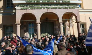 Μυτιλήνη: Συνεχίζεται και σήμερα (27/2) η γενική απεργία