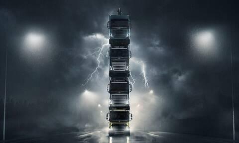 Η Volvo Trucks δημιούργησε μετά από το θρυλικό με τον Van Damme πάλι ένα εντυπωσιακό video