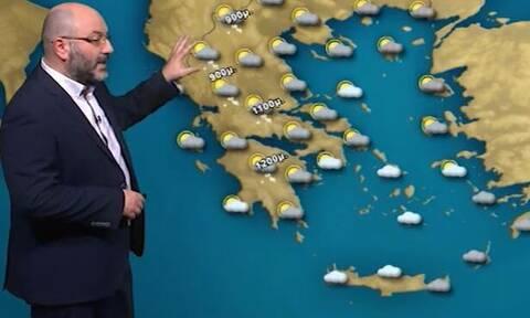 Καιρός: Προσοχή! Προειδοποίηση Αρναούτογλου για τους ανέμους, νέα επιδείνωση την Παρασκευή (video)