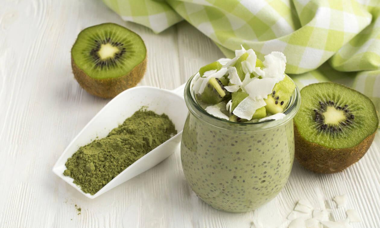Smoothies με τσάι matcha για απώλεια βάρους (vid)
