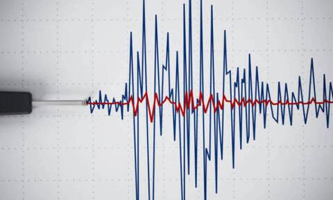 В Греции в районе Карпафоса произошло землетрясение 4,3 балла
