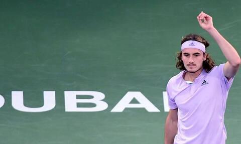 Στέφανος Τσιτσιπάς: Νέα μεγάλη νίκη με ανατροπή - Στα ημιτελικά του τουρνουά στο Ντουμπάι