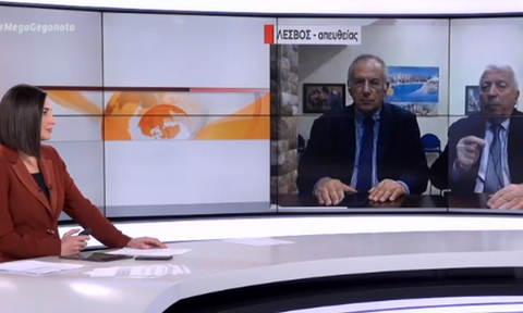 Έξαλλος ο Μουτζούρης στο MEGA: «Έχω δικαίωμα να εκφράζομαι όπως θέλω» - Αποχώρησε από το δελτίο