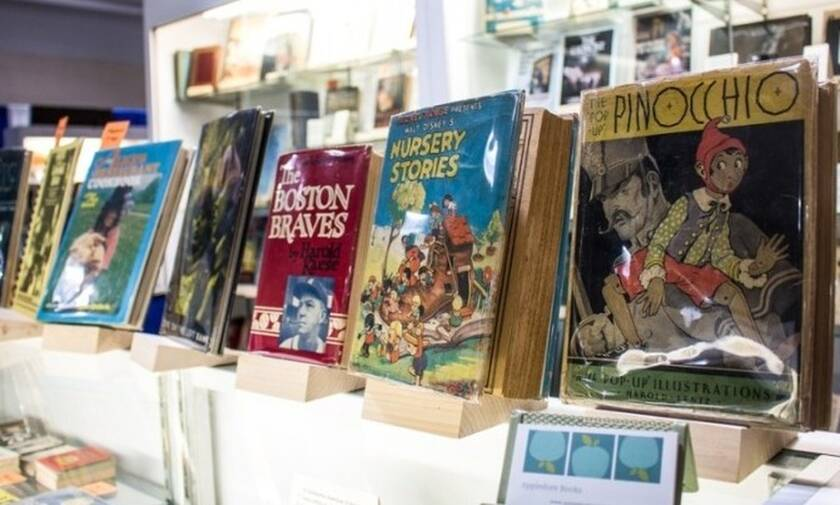 Η Διεθνής Έκθεση Βιβλίων Αντικών διοργανώνεται στη Νέα Υόρκη