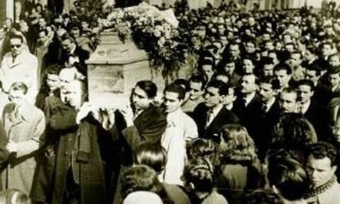 «Ηχήστε οι Σάλπιγγες»: Η κηδεία του Κωστή Παλαμά - Το συγκλονιστικό ποίημα του Άγγελου Σικελιανού