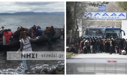 Μεταναστευτικό: Κρίσιμες οι επόμενες ώρες – Δραματική η κατάσταση σε Έβρο και Αιγαίο