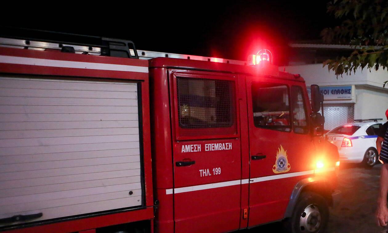 Συναγερμός στην Πυροσβεστική: Φωτιά σε σπίτι στο κέντρο της Αθήνας