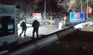 Βίντεο - ντοκουμέντο από τις Καστανιές: Καδρόνια, πέτρες και τουρκικά δακρυγόνα