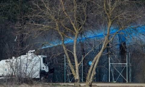 Έβρος: Ο «Αίας» της Αστυνομίας εκτοξεύει μπλε μπογιά για να εντοπίζονται πιο εύκολα οι μετανάστες
