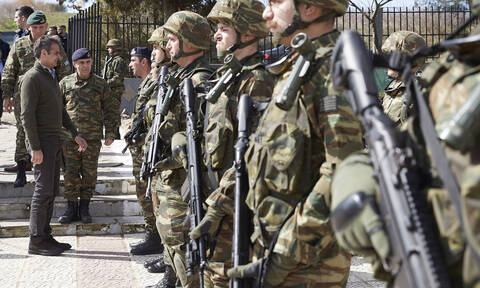 Έφτασε στον Έβρο η ηγεσία της Ευρωπαϊκής Ένωσης - Μητσοτάκης: Η Ελλάδα δεν εκβιάζεται