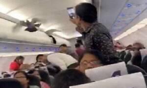 Χαμός σε πτήση: Περιστέρι μπήκε σε αεροπλάνο και προκάλεσε χάος (vid)