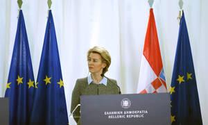 Ούρσουλα φον ντερ Λάιεν: 700 εκατομμύρια ευρώ στην Ελλάδα για το μεταναστευτικό