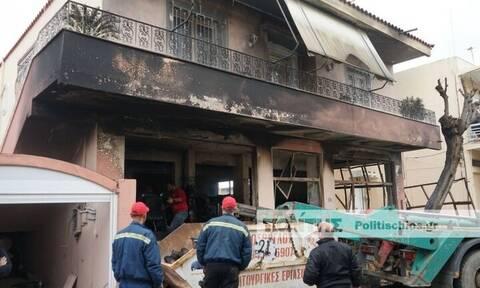 Χίος: Πυρκαγιά κατέκαψε αποθήκη ομάδας εθελοντών