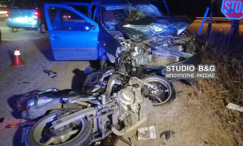Τροχαίο - σοκ στην Αργολίδα: Ένας νεκρός (Σκληρές εικόνες)