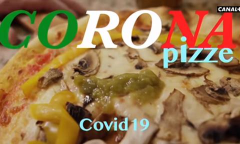 Κοροναϊός: «Πίτσα Κορόνα» - Η Ιταλία προσβεβλημένη από βίντεο που προβλήθηκε στο Canal + (vid)